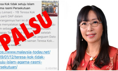 Teresa Kok Slams Slanderous Article, Wants Them To Go To Hell! - WORLD OF BUZZ