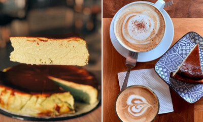The Ultimate Guide to Klang Valley Cafes That Serve Burnt Cheesecake - WORLD OF BUZZ
