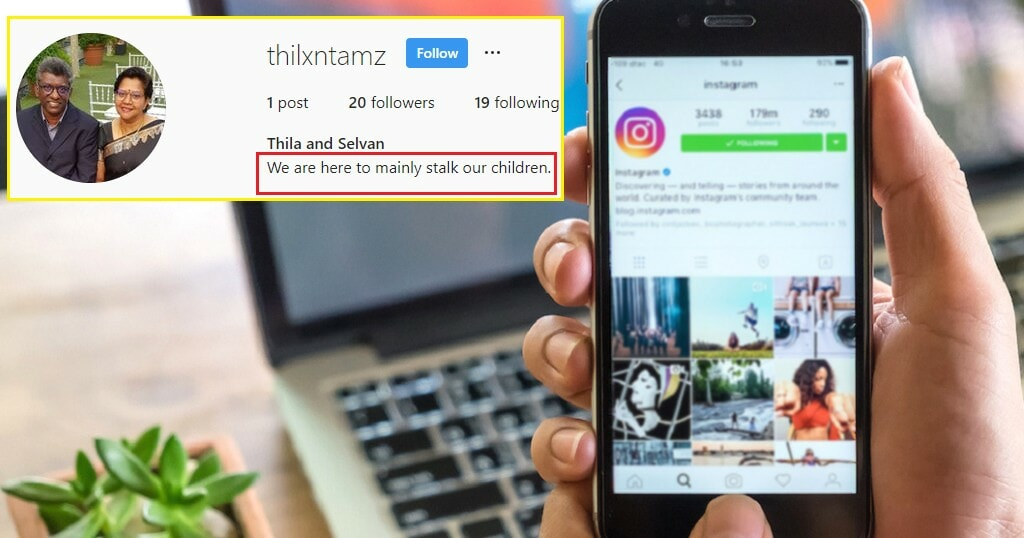These Parents Went Viral After Making An Instagram Account Just to Stalk Their Children - WORLD OF BUZZ 1