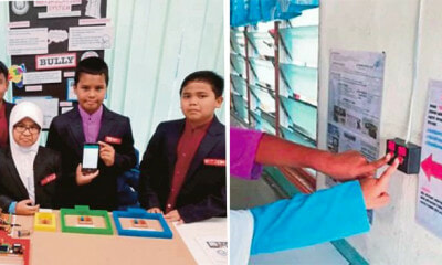 This 10yo Won Two Awards For Creating Anti-Bullying Notification System For His School in Klang - WORLD OF BUZZ