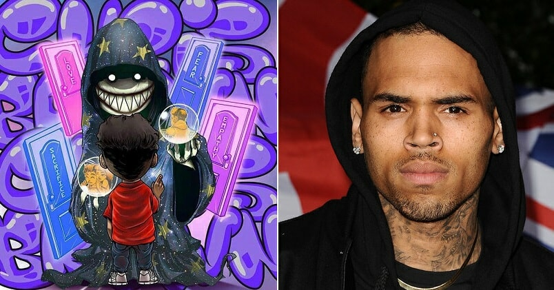 This M'sian Graffiti Artist Designed Artwork For Chris Brown's Latest Single! - WORLD OF BUZZ
