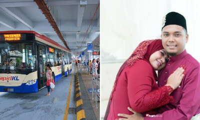 This M'sian Woman Shares Sweet Story of Meeting A RapidKL Bus Driver and Now They're Married! - WORLD OF BUZZ