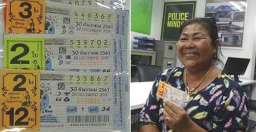 This Thai Woman Wins Lottery And Donates RM250,000 in 2017, Strikes RM3.8 Million in 2018 - WORLD OF BUZZ