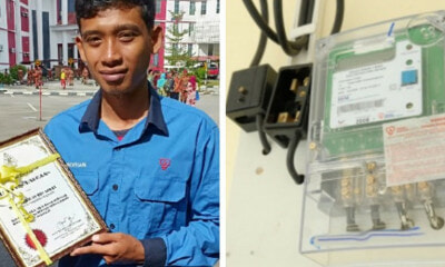 TNB Employee Notices Burning House While Checking Meter, Saves A Family Of 7 - WORLD OF BUZZ