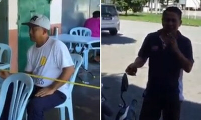 Viral Video Shows M'sian Man Using Measuring Tape To Comply With Smoking Ban Before Lighting Up - World Of Buzz
