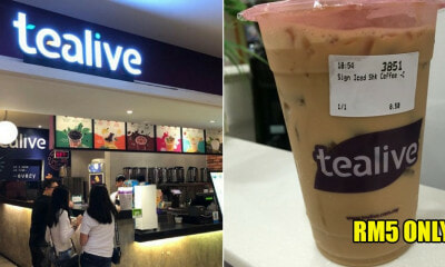 vt pls  You Can Enjoy Any Tealive's Coffees For Just RM5 Up Until 5 January 2019 - WORLD OF BUZZ