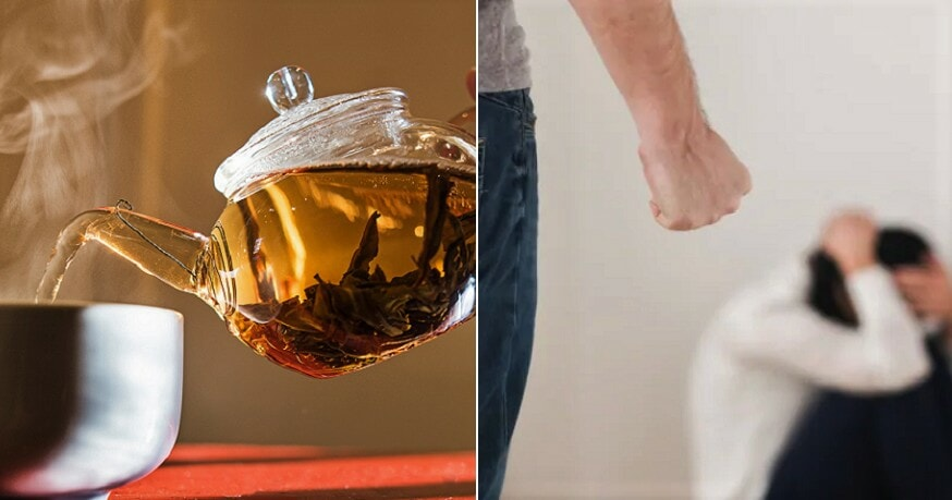 Wife Took Too Long to Serve a Drink, Husband Hits Her With an Iron - WORLD OF BUZZ