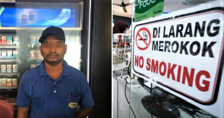 Worker at Shah Alam Mamak Gets Slapped in Face After Asking Customers to Stop Smoking - WORLD OF BUZZ