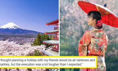 19yo Student Gets Backlash After Sharing First World Problems of Planning Holiday in Japan - WORLD OF BUZZ