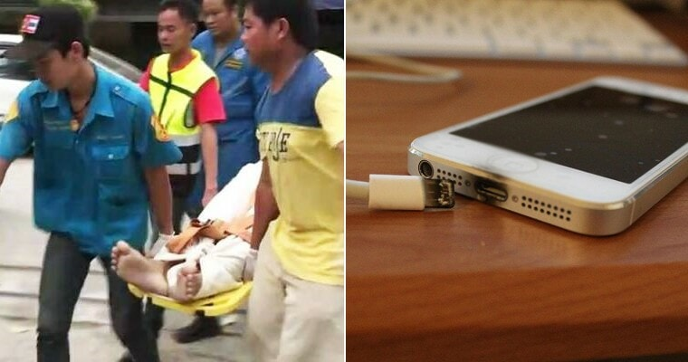 24yo Charges Phone Using Ciplak Charges, Gets Electrocuted to Death While Using It - WORLD OF BUZZ
