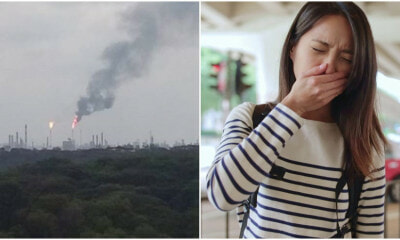 A Garbage Dump Fire in JB is so Bad that Even People in Singapore can Smell it - WORLD OF BUZZ 13