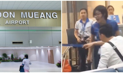 Airline Ground Staff Goes Berserk on Passenger for Checking In Overweight Luggage - WORLD OF BUZZ