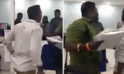 APAD Responds Against Man Going Berserk In Govt Office, Says He Did Not Wait For 4 Hours - WORLD OF BUZZ