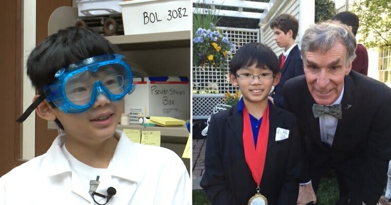Asian Child Prodigy Who Was Youngest To Win Chemistry Challenge Now A Published Researcher At Age 13 - WORLD OF BUZZ