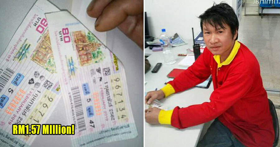 Construction Worker Wins Life-Changing RM1.57 Million Jackpot, Plans on Building a House For His Mother - WORLD OF BUZZ 3