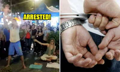 "Cops Arrests Bukit Bintang ""Begpackers"" For Endangering Child, May Face Up to 10 Years Prison If Convicted - WORLD OF BUZZ 3"