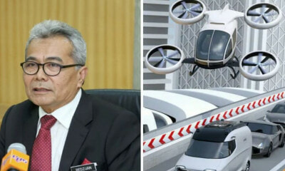 Entrepreneur Development Minister: Prototype For The First M'sian-Made Flying Car Will Be Revealed This Year - World Of Buzz