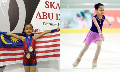 This 7yo M'sian Just Won Three Gold Medals in an International Figure Skating Competition - WORLD OF BUZZ