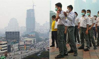 MOE: All Schools Must Stop Outdoor Activities When Haze API Reading Exceeds 100 - WORLD OF BUZZ