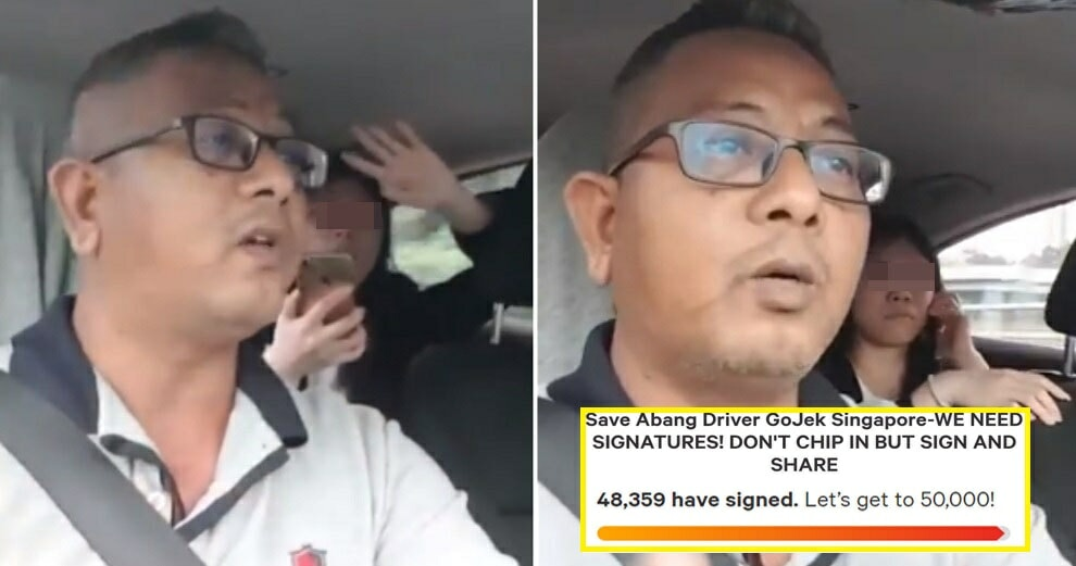 Go-Jek Driver Summoned by Land Transport Authority, 48,000 People Sign Petition to Save His Job - WORLD OF BUZZ 3