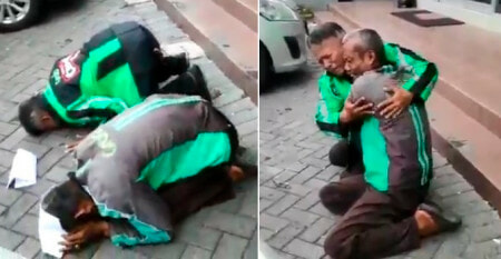 Grab Drivers Break Down In Tears After Learning They Won Company-Sponsored Pilgrimage - World Of Buzz