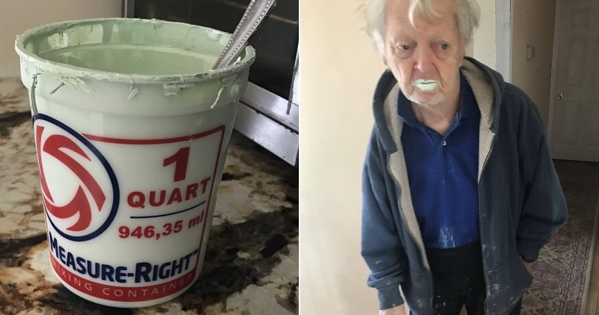 Grandfather eat paint - WORLD OF BUZZ 3