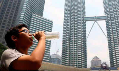 MET: Malaysians To Brace For Hot Weather - WORLD OF BUZZ