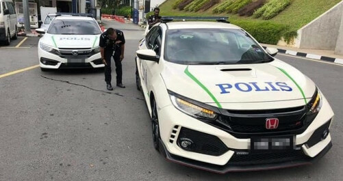 Is the Honda Civic Type R the Next Police Car? This is What PDRM Says - WORLD OF BUZZ 3