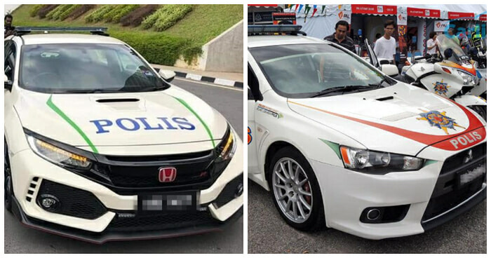 Is the Honda Civic Type R the Next Police Car? This is What PDRM Says - WORLD OF BUZZ 5