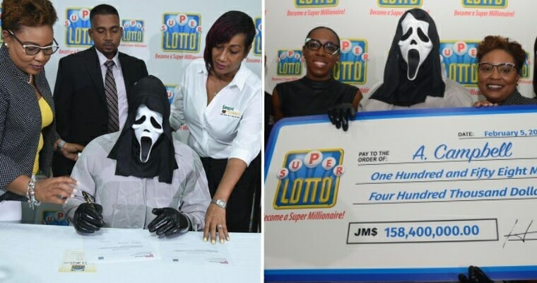 Lottery Winner Collects RM4.7 Million In Costume So His Family Won't Find Out - WORLD OF BUZZ 1