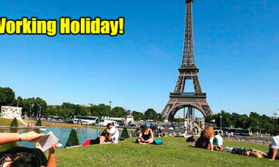 Malaysians Can Soon Apply For Working Holiday in France For Up to 2 Years - WORLD OF BUZZ