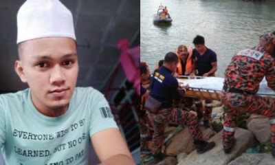 Man Drowns While Trying to Save Family of 5 After Car Plunged into Terengganu River - WORLD OF BUZZ