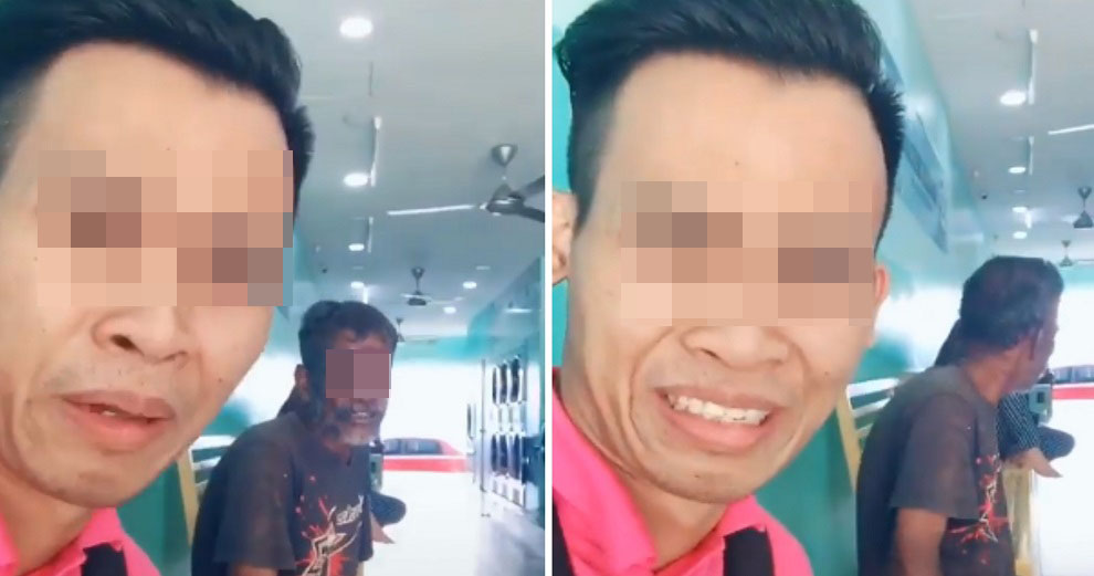 Man Slammed by Netizens For Posting Tik Tok Of Himself Mocking Hungry Uncle Asking For Money - WORLD OF BUZZ