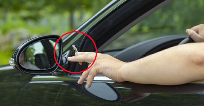 M'sian Man Throws A Cigarette Butt Out Of Car Window, Gets Slapped With An RM500 Summon - WORLD OF BUZZ