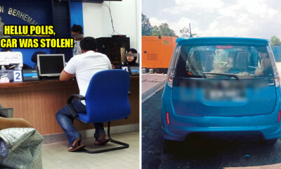 M'sian Panicly Reported Police About His Stolen Car, Turns Out He Just Forgot He Parked Somewhere Else - World Of Buzz 3
