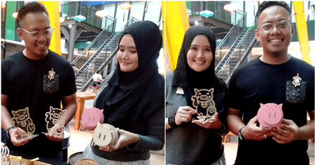 Muslim Couple in M'sia Sells Piggy Merchandise for CNY, Believes in Multicultural Harmony - WORLD OF BUZZ