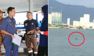 Passenger Shockingly Falls Off Ferry While Travelling From Penang to Mainland - WORLD OF BUZZ