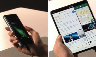 Samsung Reveals Its First Ever Foldable Smartphone & It's Priced at RM8,000 - WORLD OF BUZZ 6