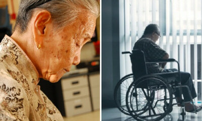 Some Elderly M'sians Are Neglected and Abandoned in Homes by Families Even During CNY - WORLD OF BUZZ 4