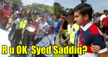 Syed Saddiq Gets Chased & Called 'babi' By Angry Bn Supporters At Semenyih's By-Election Nomination - World Of Buzz 1