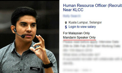 "Syed Saddiq Wants To Investigate Employers Who Seek ""Mandarin Speakers"" In Job Ads, Netizens Outraged - WORLD OF BUZZ 1"