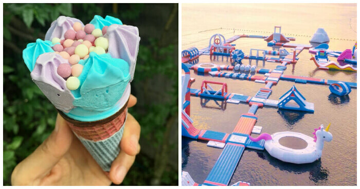 Taking a Picture with this Unicorn-Inspired Ice Cream Could Be Your Ticket to Unicorn Island, Philippines! - WORLD OF BUZZ 3