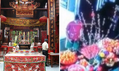 Temple Offers 500 Free Ang Paus For CNY, Woman Takes At Least 480 Of Them - WORLD OF BUZZ 7