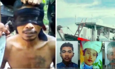 Terrorist Group Threatens to Behead 3 Hostages in Viral Video Including 1 M'sian Fisherman - WORLD OF BUZZ