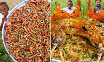 This Grandpa's YouTube Channel Where He Cooks Massive Meals For Orphans - WORLD OF BUZZ 7