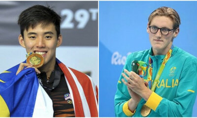 This M'sian Swimmer Just Beat an Olympic Gold Medalist to Win Australian Championship - WORLD OF BUZZ