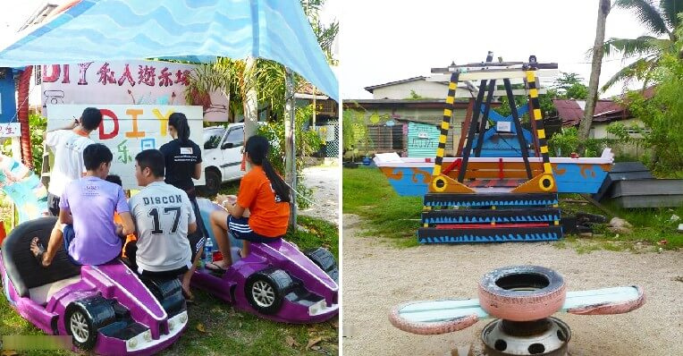 This M'sian Used Own Money To Transform Rubbish Into Playground Attracting International Tourists - WORLD OF BUZZ 7