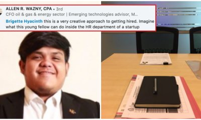 This M'sian's Creative Job Search Approach Made Him Go Viral on LinkedIn - WORLD OF BUZZ