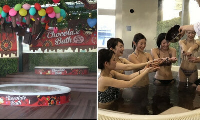 This Spa Has A Hot Spring Bath Filled with Melted Chocolate To Fulfil All Your Dreams - WORLD OF BUZZ 6