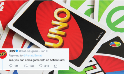 UNO Has Confirmed That You Can Actually End The Game With An Action Card - WORLD OF BUZZ 3